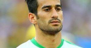 واکنش احسان حاجی صفی بعد از بازی مقابل تیم اسرائیلی