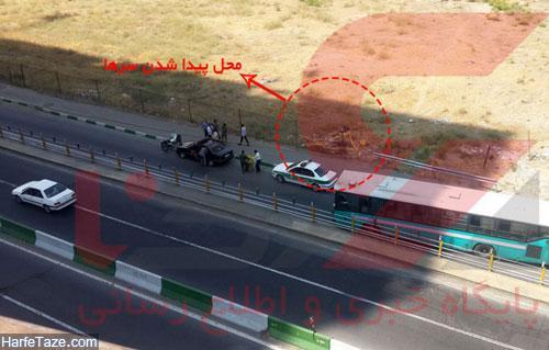 دو سر بریده شده در تهران