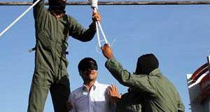 عکسهای اعدام اسماعیل رنگرز قاتل آتنا اصلانی