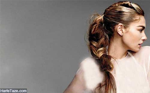 آموزش آرایش و بستن موهای بلند