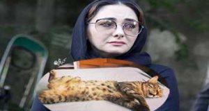 عکس العمل عجیب هانیه توسلی به مرگ گربه اش + عکس