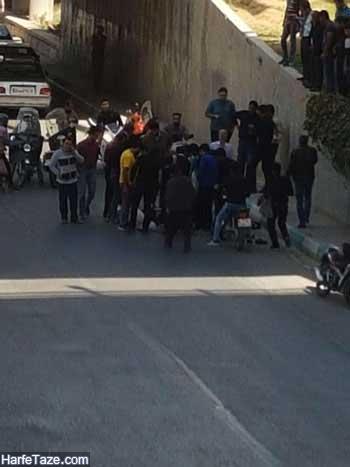 خودکشی دو دختر از پل چمران اصفهان