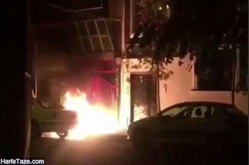 آتش سوزی ساختمان پرسپولیس