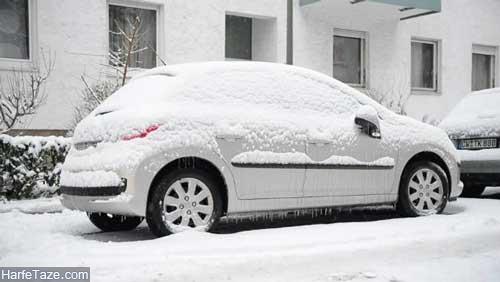 گرم کردن درجا خودرو