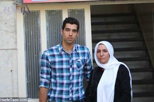 بیوگرافی محمد موسوی والیبالیست و همسرش