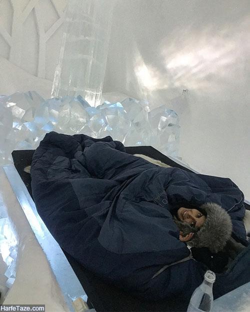 الناز شاکردوست قطب شمال