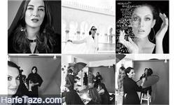برگزاری نمایشگاه در ایران توسط ارغوان خواننده آکادمی گوگوش!