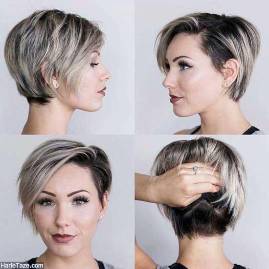 مدل مو کوتاه زنانه