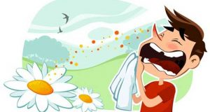 آلرژی فصلی + درمان حساسیت فصلی عطسه و آبریزش بینی