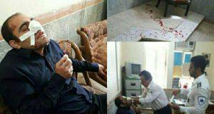 عکسها و ماجرای کتک زدن معلم توسط اولیای دانش آموز در خوزستان