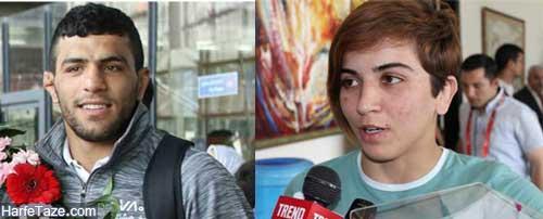 ازدواج سعید ملایی با نزاکت جودو کار آذربایجانی