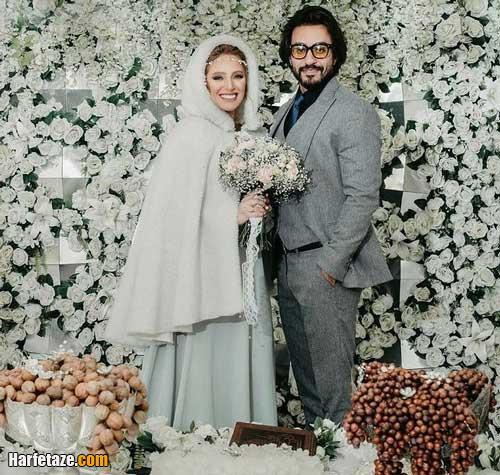 عکس های مراسم ازدواج نگین معتضدی بازیگر