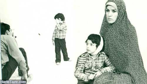 امید آهنگر (علی کوچولو) و همسرش