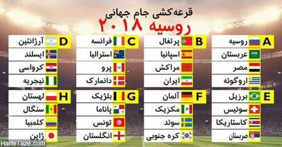تاریخ شروع جام جهانی 2018