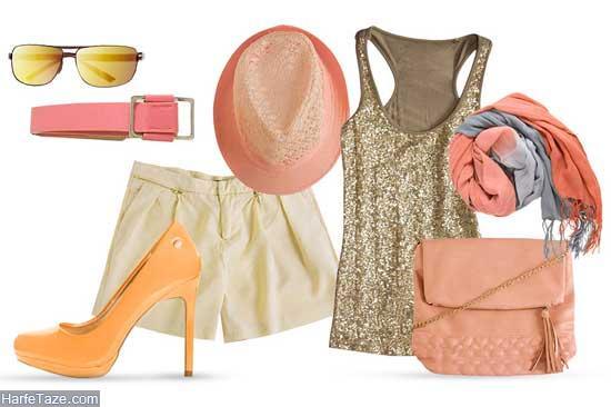 ست لباس زنانه بهاره