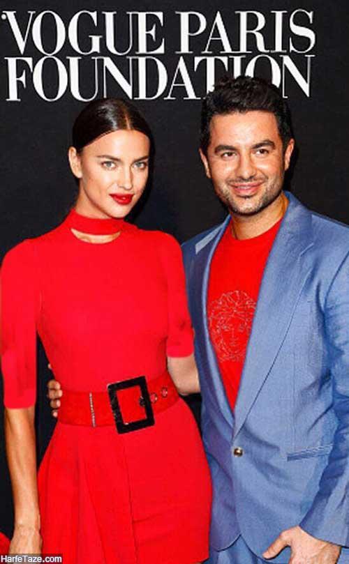 علی کاووسی و ایرینا شایک