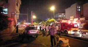 ماجرای صدای انفجار در غرب تهران سه شنبه 1 خرداد