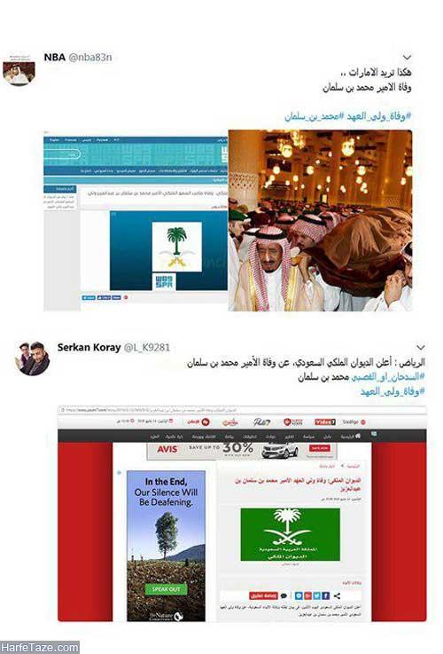 کشته شدن محمد بن سلمان