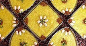 آموزش تصویری و طرز تهیه شله زرد برای ماه مبارک رمضان