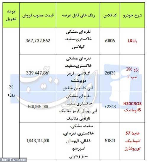 ایران خودرو ویژه عید فطر