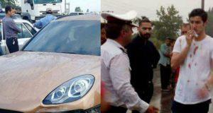 جزئیات تصادف سردار آزمون در محور نکا-بهشهر مازندران