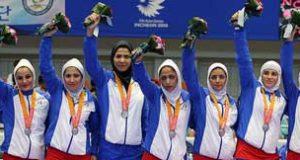 عکسهای بازیکنان تیم کبدی بانوان ایران قهرمان بازیهای آسیایی