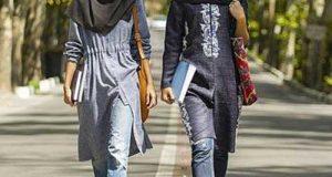 مدل مانتو دانشجویی 97 و تیپ دانشجویی جدید
