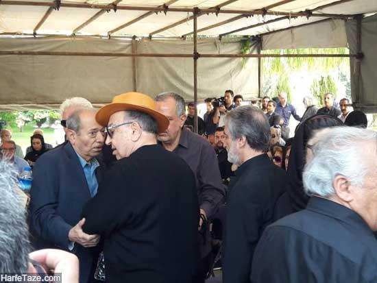 تشییع جنازه عزت الله انتظامی