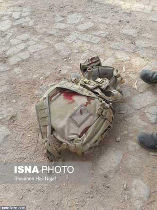 لحظه تروریستی رژه نیروهای مسلح اهواز