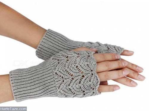 مدل دستکش بافتنی