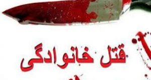 ماجرای قتل دو دختر و پدر و مادر همسر توسط مرد بی رحم در خیابان نبرد