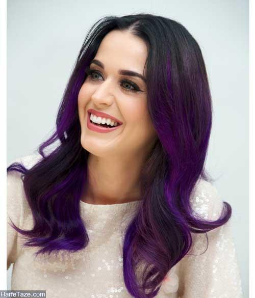 مدلهای رنگ مو