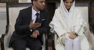 خبر و عکسهای ازدواج سارا خادم با اردشیر احمدی