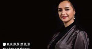 فیلم دست دادن ترانه علیدوستی با بازیگر مرد در جشنواره فیلم توکیو
