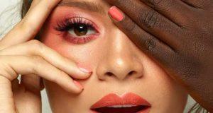 مدل آرایش با رنگ سال 2019 - 98 | ایده های آرایش با رنگ مرجانی