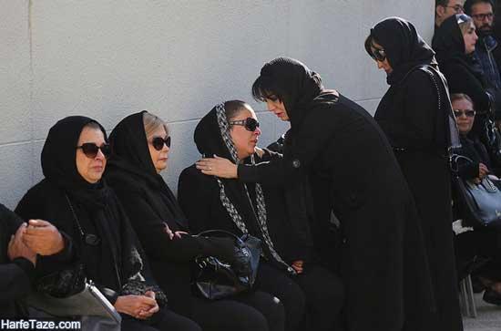 تشییع جنازه پیام صابری