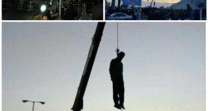 عکس و فیلم اعدام محمدجواد شمس قاتل ملیکا فلاورجان