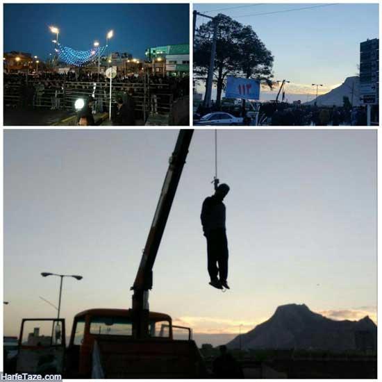 اعدام قاتل ملیکا