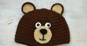 مدل کلاه بافتنی کودکانه با طرح حیوانات