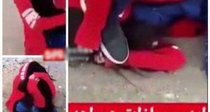 ماجرای کلیپ کتک زدن یک دختر توسط پسر سیرجانی