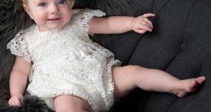 زیباترین مدلهای لباس توری نوزادی