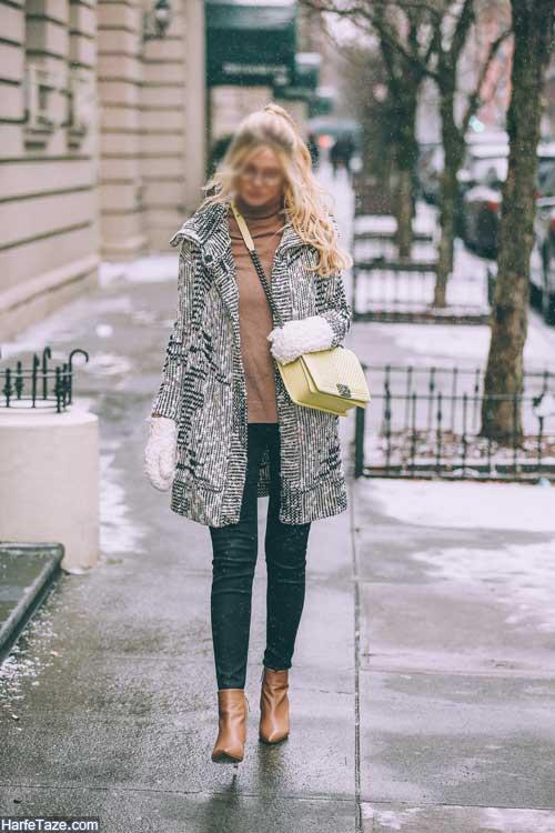 مدل لباس زمستانی زنانه
