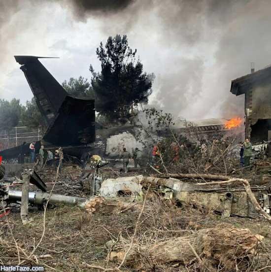 سقوط هواپیمای بوئینگ