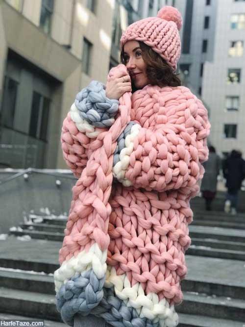 ژاکت بافتنی زنانه
