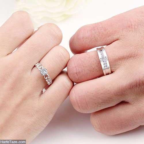 حلقه ازدواج در دست