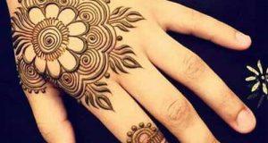 مدلهای نقش حنا روی دست + حناکاری دست عروس