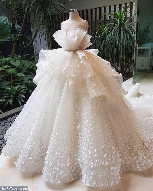 لباس عروس دکلته