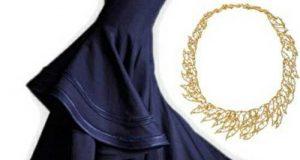 ست لباس مجلسی ماکسی با اکسسوری شیک