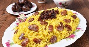 طرز تهیه برنج دمی لوبیا عروس (دمپخت لوبیای عروس)
