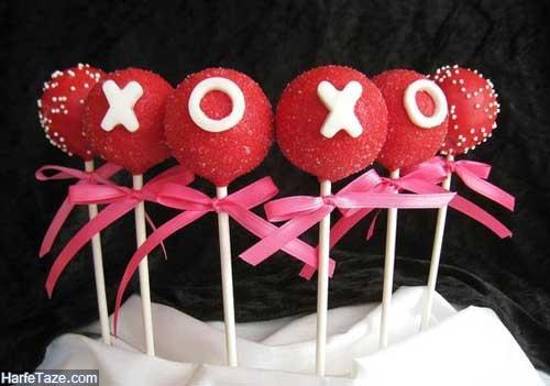 پاپس کیک عاشقانه